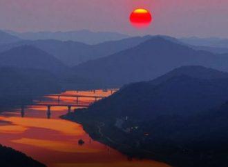 النهر البرتقالى فى جنوب افريقيا