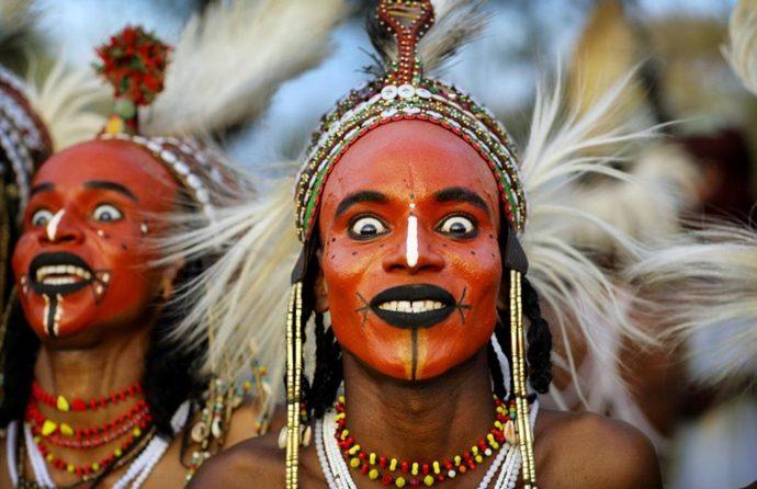 ثقافات أفريقية: مهرجان جيريول وملوك جمال الرجال