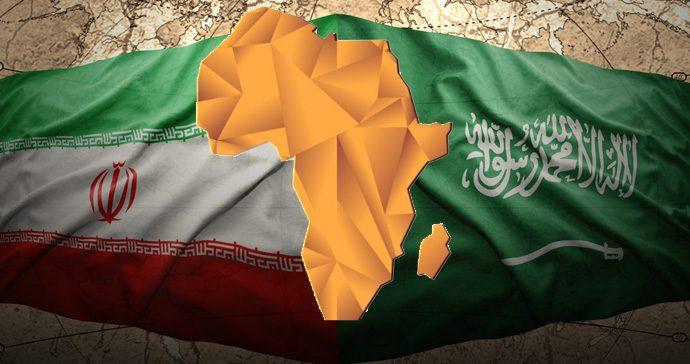 الحرب السعودية الايرانية فى أفريقيا
