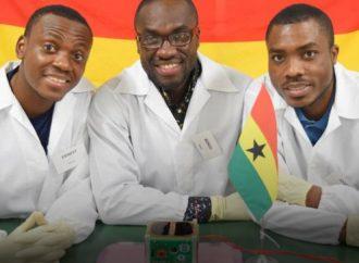 طلاب غانا يطلقون أول قمر صناعى لدول افريقيا جنوب الصحراء